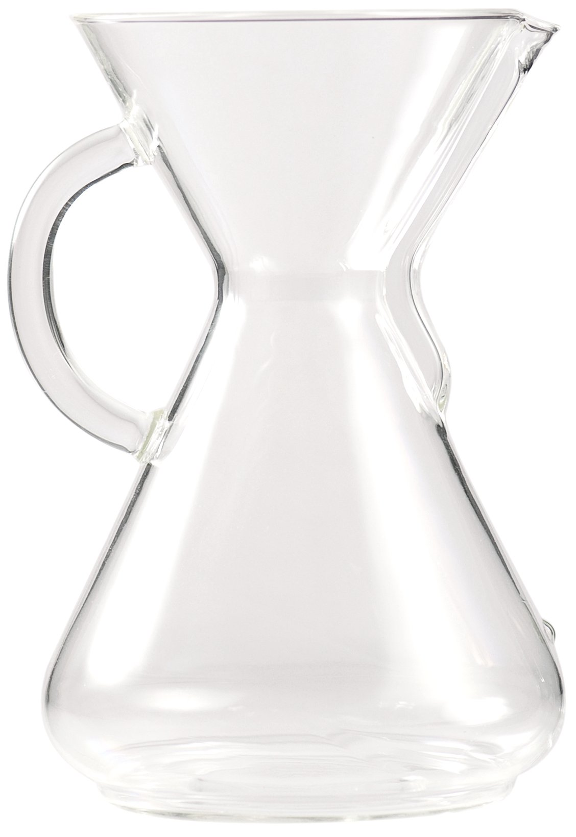 Chemex 10-Cup Coffeemaker with Glass Handle by Chemex