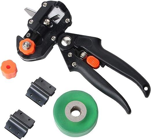 Abracing - Juego de Herramientas de Corte para jardín (con Cuchilla de Repuesto para árboles frutales), B Grafting&2cm Tape: Amazon.es: Hogar
