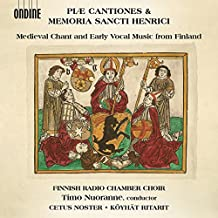 Piae Cantiones & Memoria Sancti Henrici - Medieval Chant & Early Vocal Music from Finland