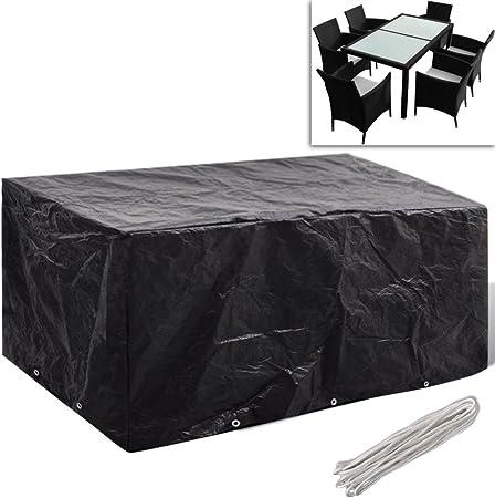 Festnight Cubierta de Conjunto de Mueble Funda Protectora para Conjunto de Muebles del Jardín Dimensión Opcional: Amazon.es: Hogar