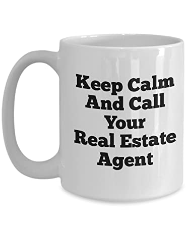 Amazon Funny Real Estate Agent Mug