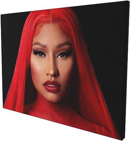 Nicki Minaj Music Star Music canvas poster Classic Canvas Poster Bedroom art unframe