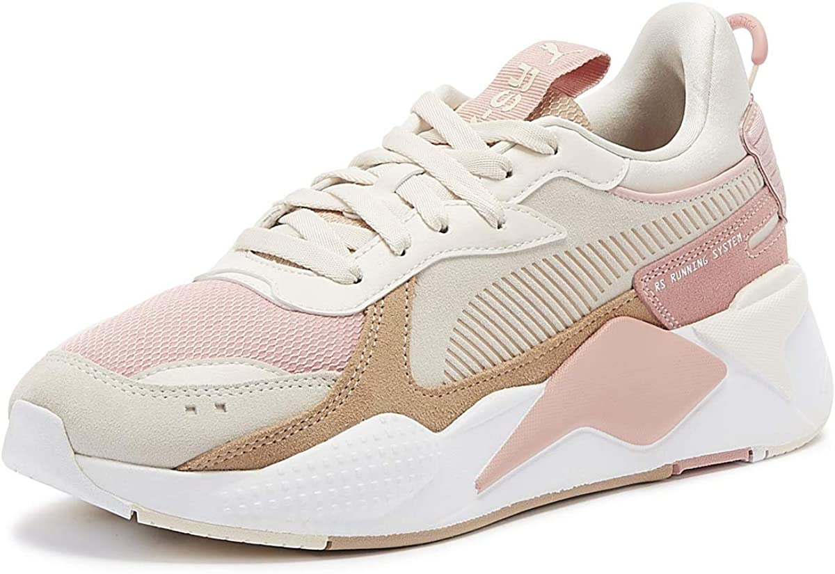 Puma RS-X Reinvent Womens Bridal Rose Trainers: Amazon.co.uk ...