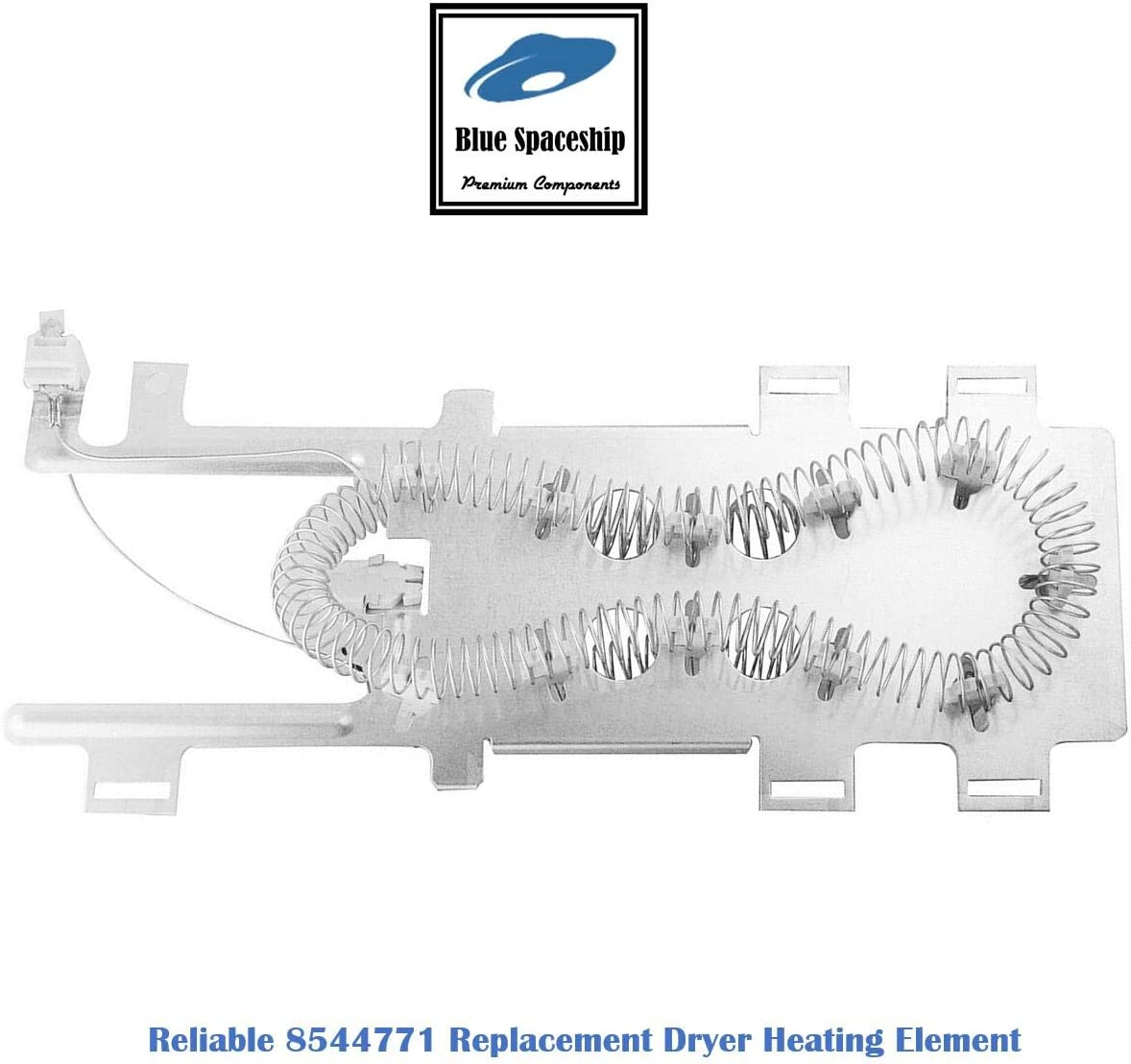 Replacement Dryer Heating Element Kit for Whirlpool KitchenAid Maytag Roper