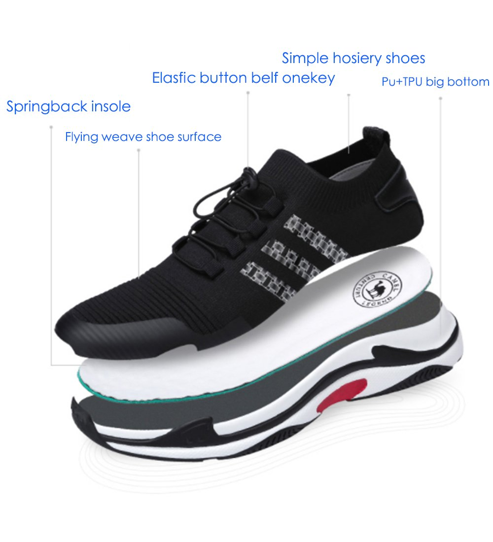 Men\'s Lightweight Breathable Running Casual Fashion Sports Shockproof Athletic Sneakers Gym Walking Shoes