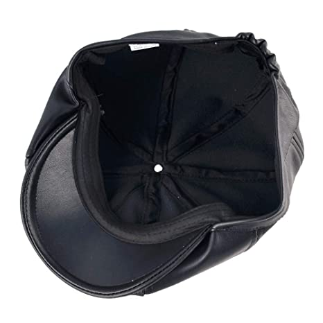 Amazon.com: Daisy Storee Fashion Winter Berets caps for Men Octagonal Cap Women Faux Leather Beret hat Men Peaked Flat Hats Gorras Planas: Kitchen & Dining