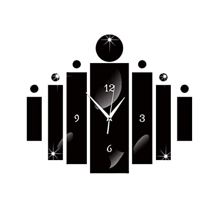 Amazon.com: Zesoma Bar Digital Wall Clock Duvar Saati Silent Reloj ...