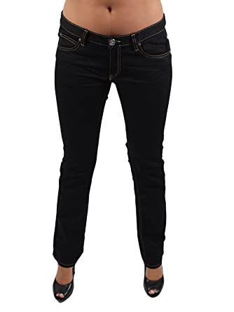 bb8fe7999d59 Designers Remix by Charlotte Eskildsen Giordano Frangipani Women s Plain  Jeans - Black - W26  Amazon.co.uk  Clothing