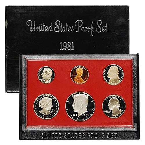 Dollar High Mint - 1981 S US Proof Set Original Government Packaging