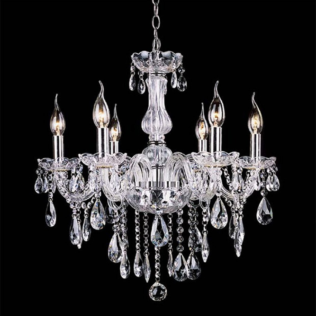 PEATAO Crystal Chandeliers Lighting Fixture Pendant Light Ceiling Candle Chandelier 110V (US STOCK) by PEATAO