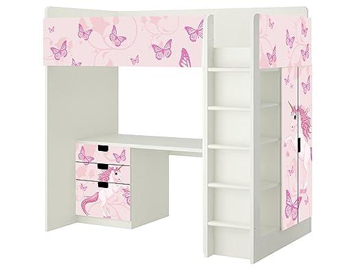 Ikea Kinderzimmer Etagenbett : Einhorn aufkleber sh passend für die kinderzimmer hochbett