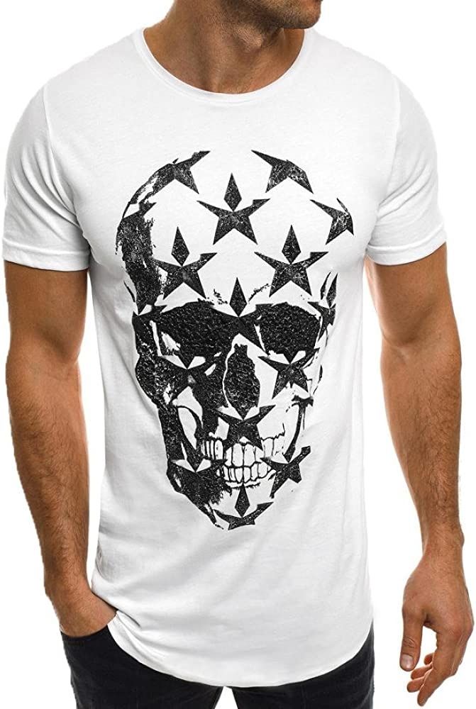 Men/'s t shirts muscle tee t shirt slim fit casual short sleeve summer blouse