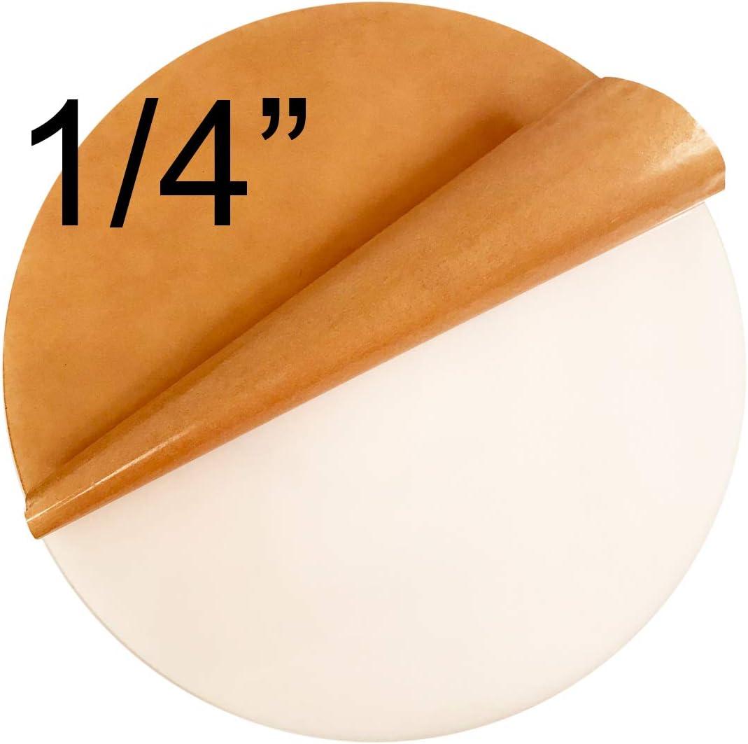 "50 Pcs 1-1//2/"" Dia x 1//16/"" Thick Laser Cut Clear Cell Cast Plexiglass Disks"