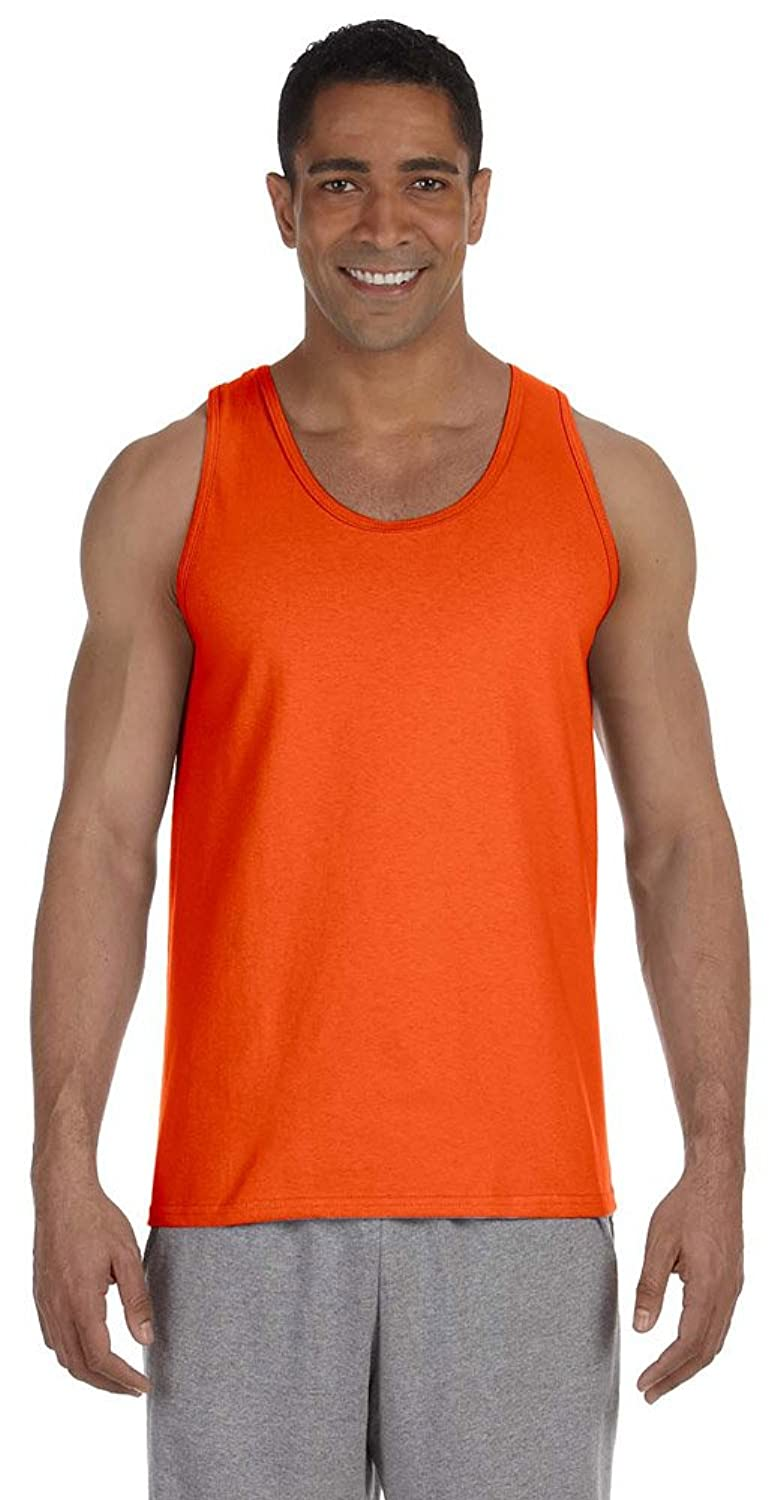 Gildan Ultra Cotton 6 oz. Tank, ORANGE