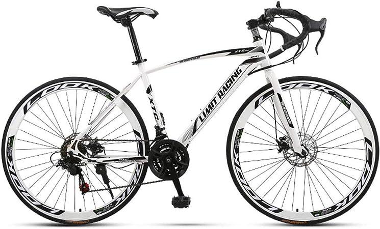 Unisexo Bicicleta de Carretera competitiva 26 Pulgadas Acero de ...