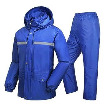 Regenanzug Regenjacken Wiederverwendbare Für Männer Laxf j5q34ARL