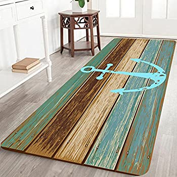 Amazon.com : ZaH Thin 3D Area Rug Non-Slip Doormat Carpet