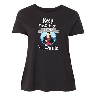 56448251428 Amazon.com  inktastic - Keep The Prince I ll Take The Pirate Women s ...