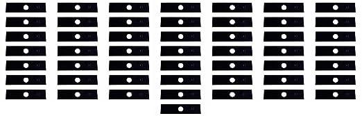 50 unidades), diseño de la bandera de Estados Unidos cortacésped ...
