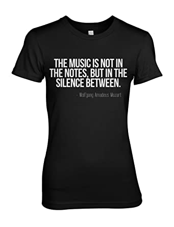 e48186af0206 Amazon.com  Teequote Wolfgang Amadeus Mozart Musician Quote Women s ...