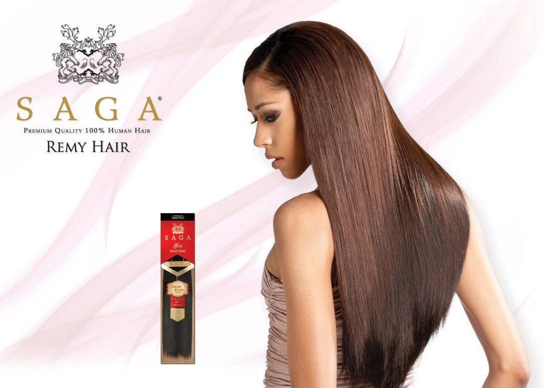 Amazon Milkyway Saga Gold Remy Yaky 100 Human Hair Extensions