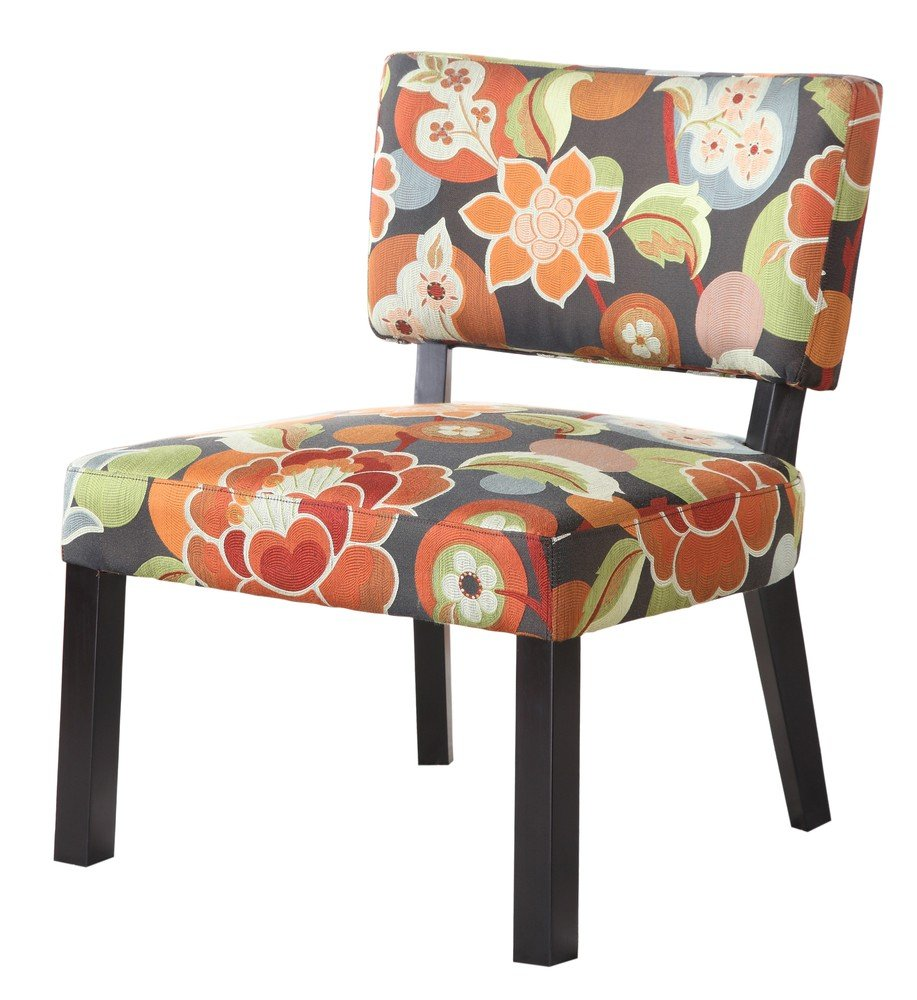 Awesome Floral Accent Chair Decor