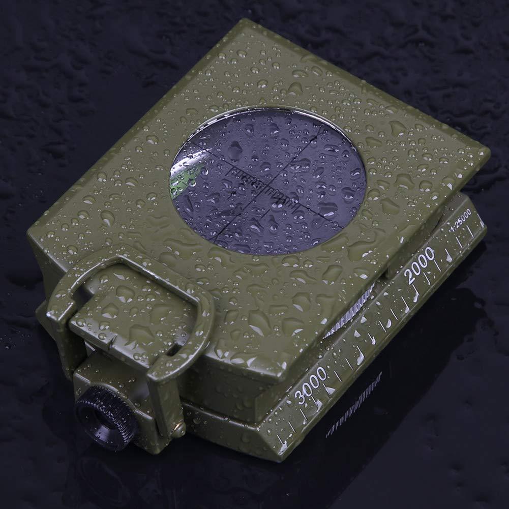 Fluorescent /Étanche avec Inclinom/ètre Pouvant Mesurer Un Compas Multifonctions en Pente TCpick Compas Professionnel De Haute Pr/écision