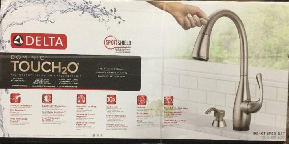 Amazon.com: Dominic Single-Handle Pull-Down Sprayer Kitchen Faucet ...