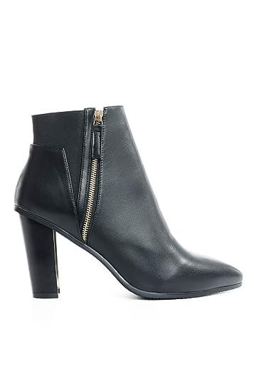 facb2f49d1c Women s Moshi Metallic Heel Ankle Booties (Wide Width)