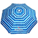 Best Beach Umbrellas - Tommy Bahama Sand Anchor Beach Umbrella SPF 100+ Review