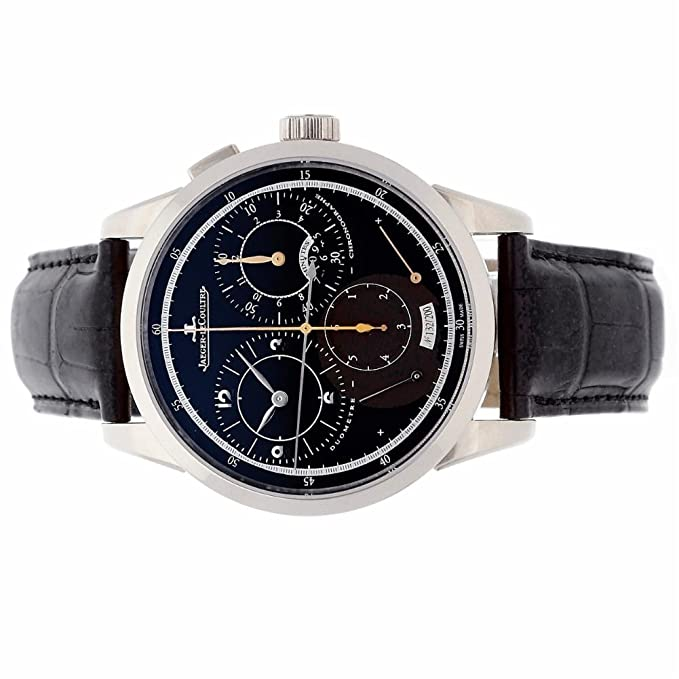 Amazon.com: Jaeger LeCoultre Duometre Mechanical-Hand-Wind Male Watch Q6013470 (Certified Pre-Owned): Jaeger LeCoultre: Watches