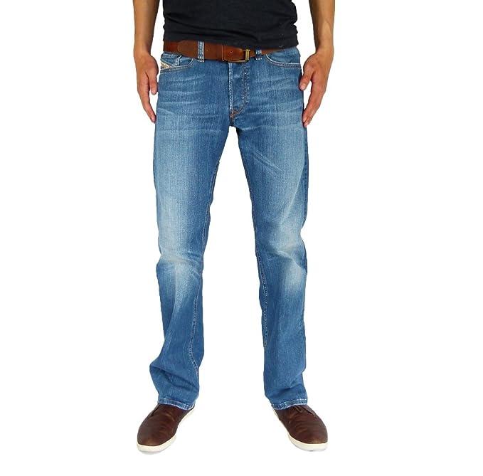 Diesel Viker 0R83P R83P Straight Cut Jeans para hombre ...