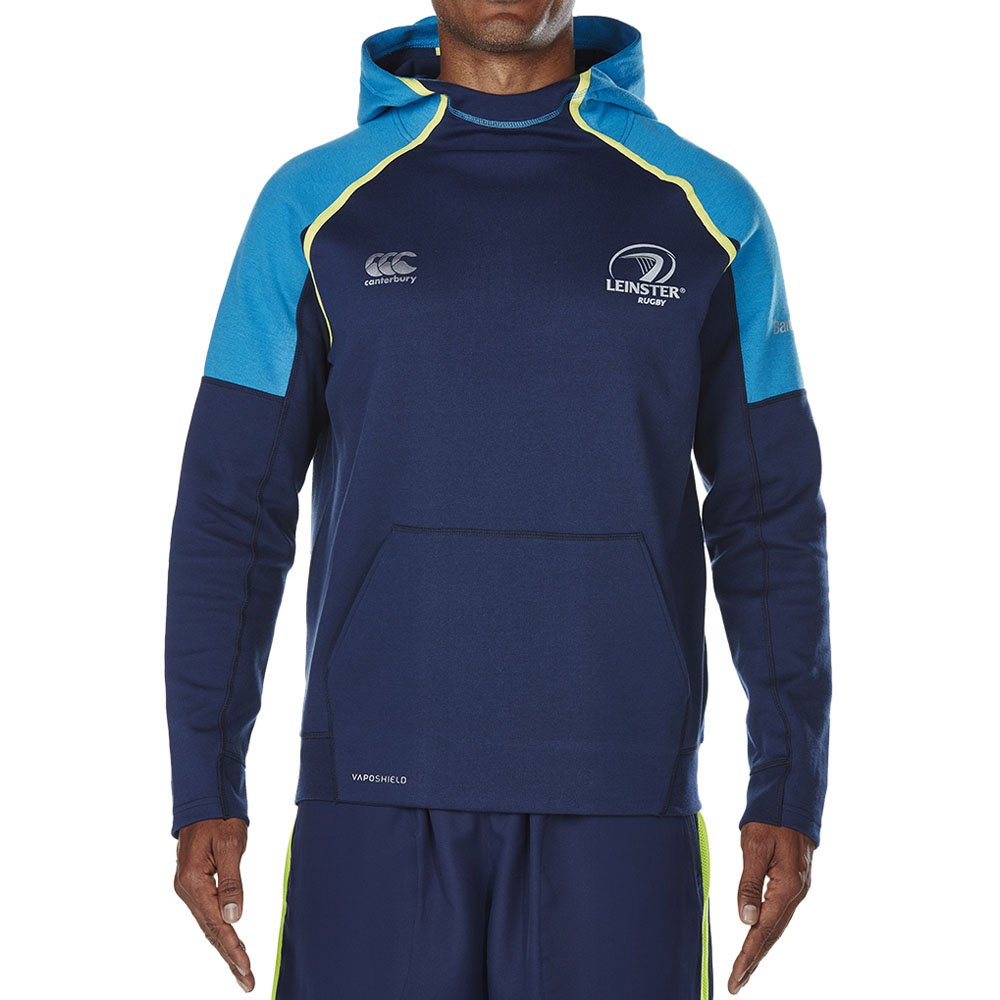 2017 – 2018 Leinster Rugby Vaposhield OTH Fleece Hoody ( Peacot ) B073Y64V7BNavy Medium 39\
