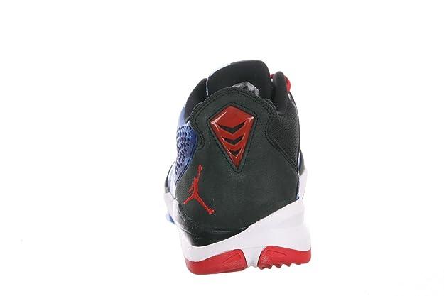 5bb78445271 Amazon.com  Air Jordan CP3.VII - Black   Sprint Red-Chambray Blue-Game  Royal