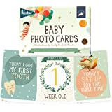 Milestone - Baby Photo Cards Dream World by Emily Winfield Martin - Set of 24 Photo Cards to Capture Your Baby's First Year in Weeks, Months, and Memorable Moments