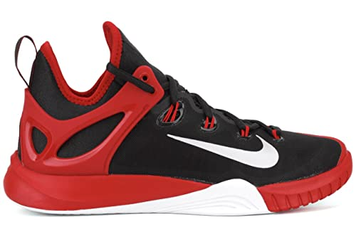 45defe55b641 Nike Zoom Hyperrev 2015 Mens Basketball Shoes 705370-006 Black Pure  Platinum-Red-White 12 M US  Buy Online at Low Prices in India - Amazon.in