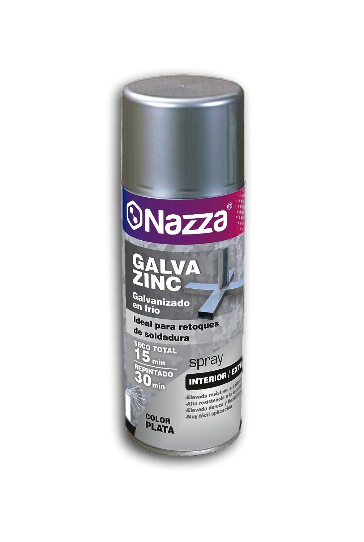 Spray Galvanizado en Frío | Galvazinc Plata | Especialmente indicado para proteger al metal | Formato de 400 Ml.: Amazon.es: Bricolaje y herramientas