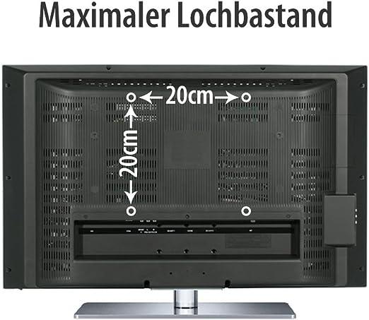 Fair Style TV soporte de Pared orientable extensible +/- 15° adecuado para TV y monitores de hasta 106 cm en diagonal (42 pulgadas) con estándares VESA en mm: 75x75   100x100  