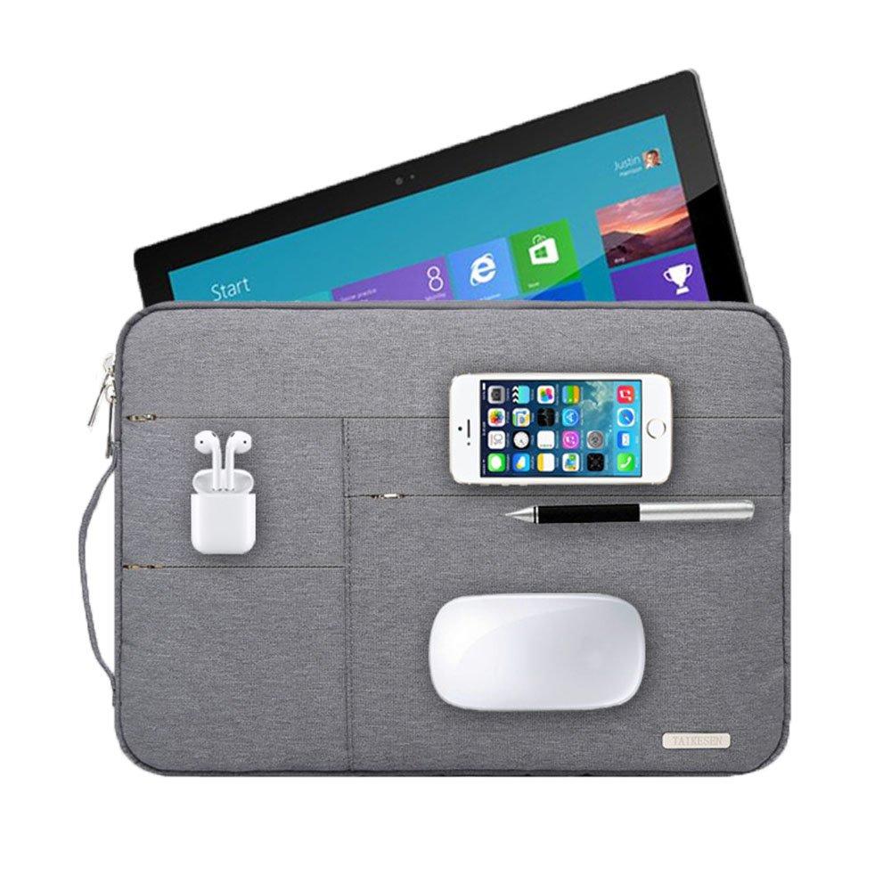 Audirex Water Drop Proof Laptop Tablet Sleeve Handbag for 12 - 13.3 Inch MacBook Air | MacBook Pro Retina 2012 - 2017 | 12.9 Inch iPad Pro | Surface Pro 3 Pro 4 | New Surface Pro