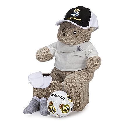 Cesta Futbol Baby Real Madrid BebeDeParis- cesta regalo recién nacido