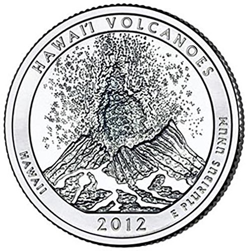 2012 S Silver Proof Hawaii Volcanoes National Park NP Quarter Choice Uncirculated US Mint
