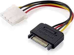 E-Quip Equip SATA Stromversorgungskabel SATA/F zu Molex/F 0,15m
