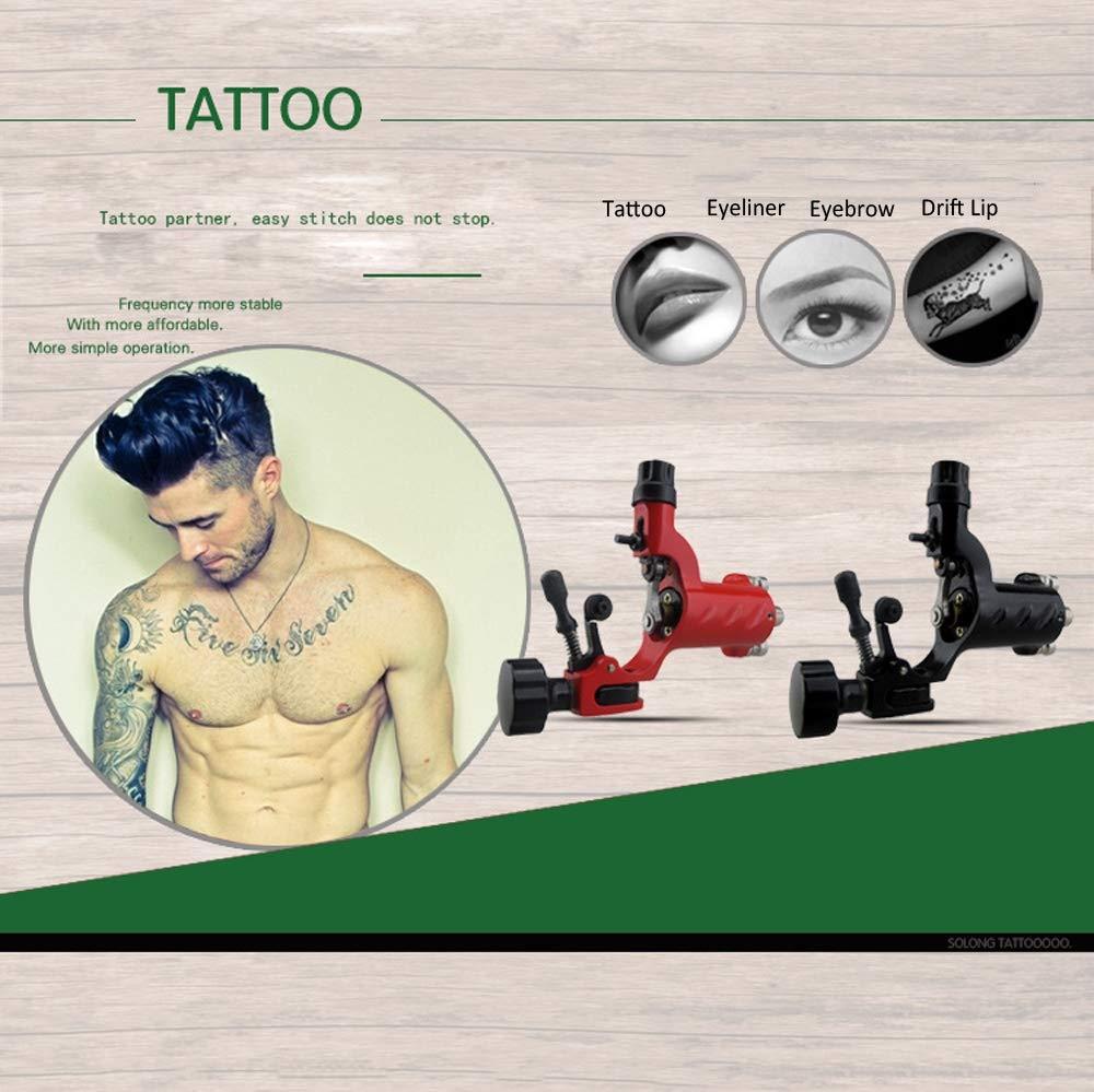 Profesional Kit de Inicio de Tatuaje Máquina de Doble Motor ...