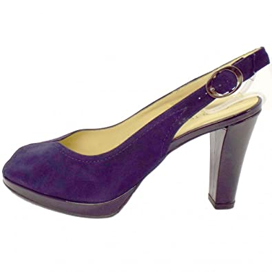 1337fc1ffcf Peter Kaiser Silvy Open Toe Shoes in Navy Suede NAVY SUEDE 8  Amazon.co.uk   Shoes   Bags