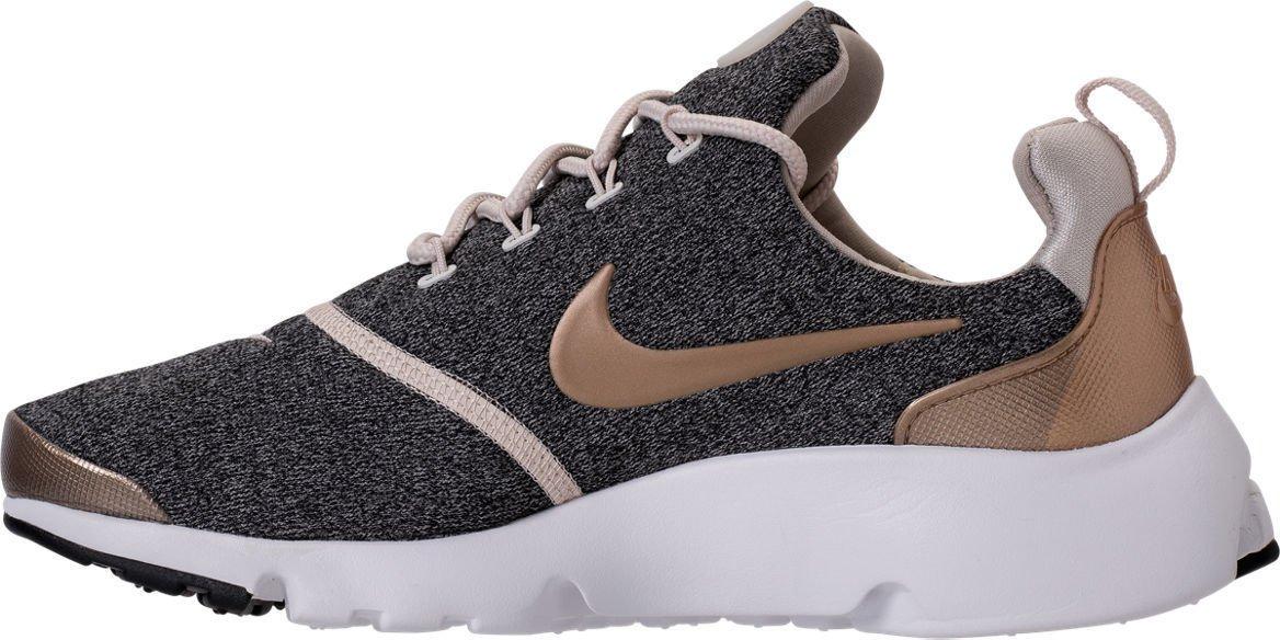 NIKE Presto Fly Womens Running Shoes B0785HV6VP 7 B(M) US Brn/Blur-black
