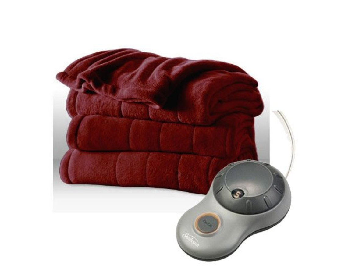 Sunbeam Imperial Plush Heated Blanket Black Friday Deal