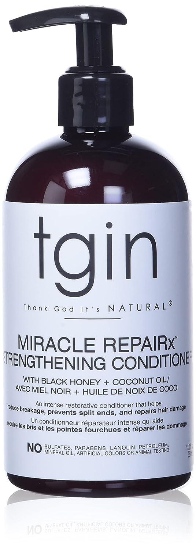 tgin Miracle RepaiRx Strengthening Shampoo For Natural Hair - Dry Hair - Curly Hair - 13 Oz