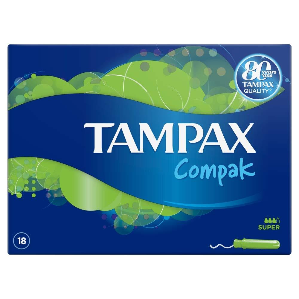 Tampax compak super 18 tampons Procter & Gamble 109671668