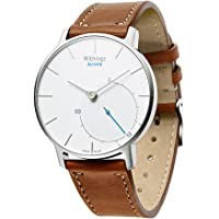 EloBeth for Lg Watch Style/Withings/Steel Hr Bands, 18Mm Quick Release Watch Bands, Replacement Leather Watch Straps for Men and Women Brown
