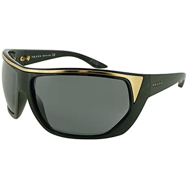 Amazon.com: Prada spr10i Color 1 ab4t1 Gafas de sol: Clothing